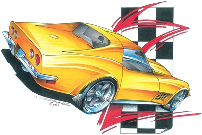 '68-'72 Corvette Sting Ray T-shirt