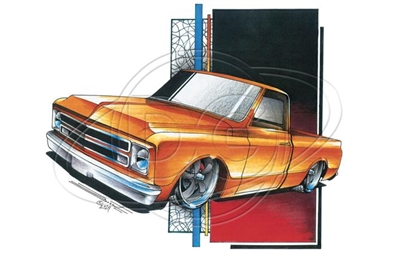 Chevy C10 '67-'72 Pickup T-shirt