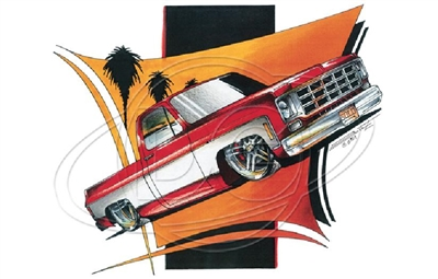 Chevy C10 '73-'80 Pickup T-shirt