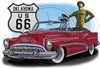 Buick '53 Classic Convertible Hot Rod T-shirt 100% Cotton S-XXXL