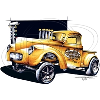 Willys Pickup Gasser T-shirt