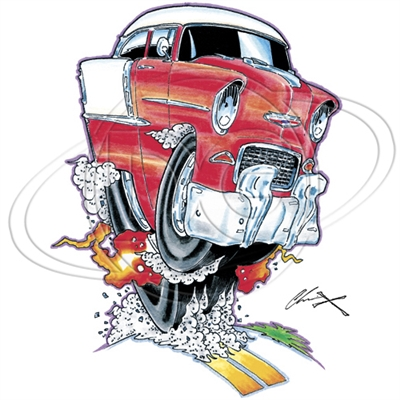 '55 Chevy Bel Air T-shirt