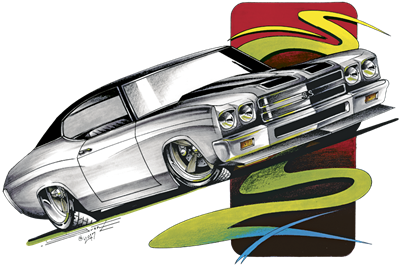 '70 Chevy SS Chevelle T-shirt