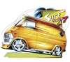 Ford Econoline Custom Surf Van Hot Rod T-shirt
