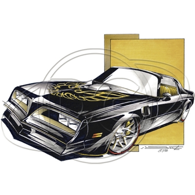 Pontiac Trans Am Firebird Classic Muscle Car T-shirt