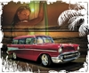 '57 Chevy 210 Handyman Wagon T-shirt