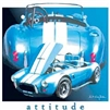 Ford AC Cobra Shelby Attitude Car T-shirt