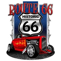 Route 66 Ford Deuce T-shirt