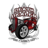 Hot Rod Death Dealer Rat Rod T-shirt