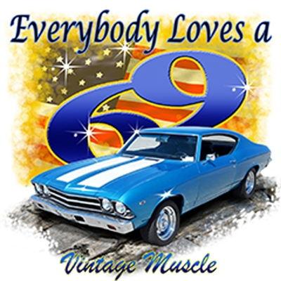 Chevrolet '69 Malibu SS Chevelle Big Block T-shirt