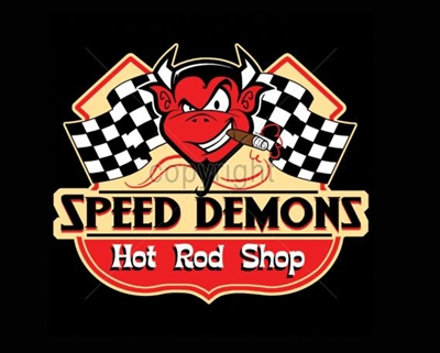 Speed Demons Hot Rod Shop Rat Rod T-shirt