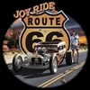 Route 66 Joy Ride Hot Rod Rat Rod T-shirt