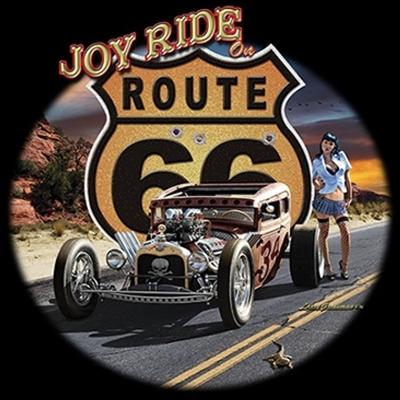 T-Shirt Hot Rod BIKER US-Cars Classic Car RETRO V8 Oldtimer Route 66 VINTAGE 267