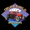 Ford '32 Coupe Deuce's Wild Hot Rod T-shirt 100% Cotton Small-XXXL