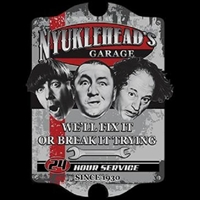 3 Stooges Knuckleheads Garage