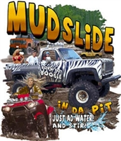"Chevy 4X4 Pickup ""Mudslide"" T-shirt"