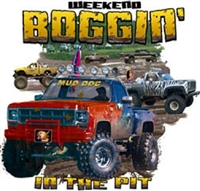 "Chevy 4X4 Pickup ""Boggin' in the Pit"" T-shirt"