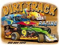 "DIrt Track Racing ""Big Boy Toys"" T-shirt"