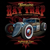 Genuine Rat Trap Vintage American Iron Hot Rod T-shirt