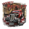 Rust Bucket Rat Rod Hot Rod T-shirt