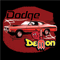 Dodge Demon Muscle Car T-shirt
