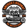 Route 66 Ford Deuce Coupe T-shirt
