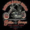 Bobber Garage Motorcycle T-shirt