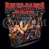 Bikes, Babes and Beer Motorcycle Biker T-shirt