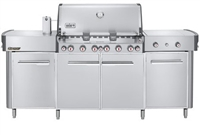 Weber Summit Grill Center Natural Gas Stainless Steel - 292101