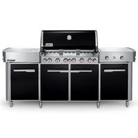 Weber Summit Grill Center Natural Gas Stainless Steel - 292101 LATEST MODEL HIGHEST GRADE STEEL LIGHT UP KNOBS