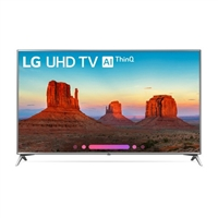 "LG UK6570PUB Series 70"" Class HDR UHD Smart LED TV - 70UK6570PUB-VO 12 bit panel over 1 billion colors latest model 15 mili sec response"