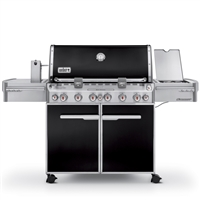 Weber 7371001 Summit E-670 LP Grill Black - 7371001