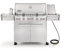 "Weber Summit S-670 Gas Grill with 6 Burners and Rotisserie System 74.1"" - 7470001"