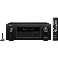 Denon AVR X3400H 7.2 Channel AV Network Receiver - AVRX3400H
