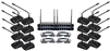 VocoPro DIGITAL CONFERENCE 16 Sixteen Channel UHF Wireless Conference Microphone System - DIGITAL-CONFERENCE-16