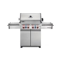 Napoleon Grills Gas Grill w/ Infrared Side Burner - P500RSIBPSS-1