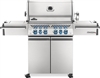 Napoleon Prestige Pro Freestanding Barbecue Grill Stainless Steel - PRO500RSIBNSS-3