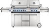 Napoleon Prestige Pro 825 Natural Gas Grill with Infrared Rear Burner, Double Infrared Sear Burner & Side Burner - PRO825RSBINSS-3