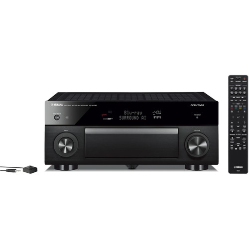 Yamaha AVENTAGE RX-A1080 7.2-Channel AV Receiver with MusicCast - RXA1080BL