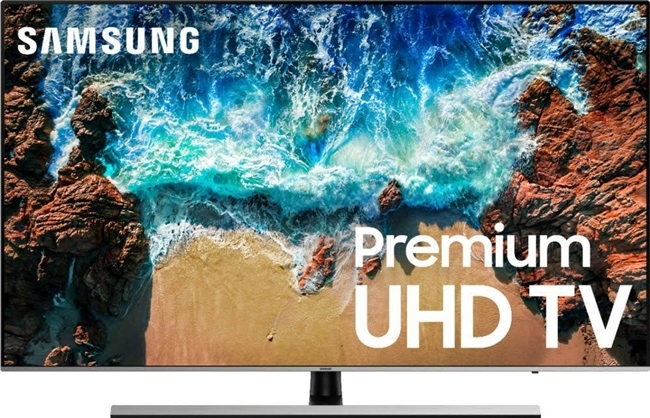 "Samsung 8 Series 75"" LED Smart TV 4K UltraHD - UN75NU8000F"
