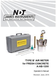 Type B Air Meter Instruction Manual PDF
