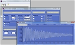 Veelinx Software showing waveform, control panel and data