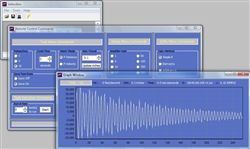 Veelinx™ Software showing waveform, control panel and data