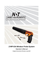 Windsor® Probe Basic System Manual, Z-WP-534