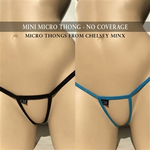 Mini Micro Thong - No Coverage