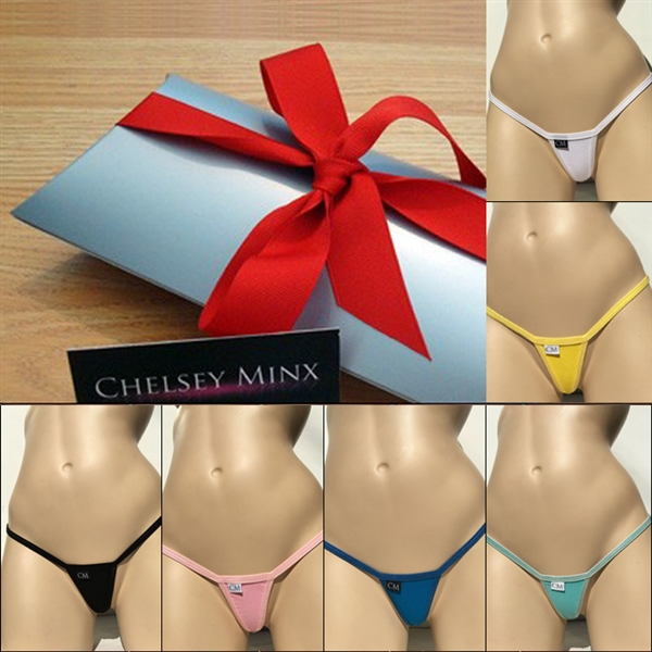 Mini Micro Thong Cotton - 6 Pack