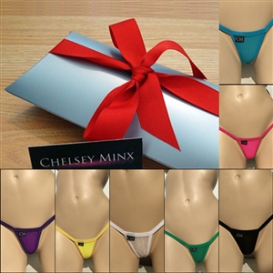 Mini Micro Thong Sparkle - 7 Pack