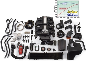 EDELBROCK E-FORCE COMPLETE SUPERCHARGER SYSTEM WITH TUNER FOR 2004-08 FORD F-150 2-WHEEL DRIVE (5.4L 3V)  - 1581