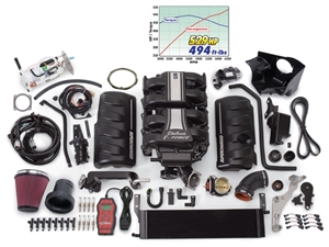 EDELBROCK E-FORCE COMPLETE COMPETITION SUPERCHARGER SYSTEM FOR 2005-09 FORD MUSTANG (4.6L 3V)  - 15856