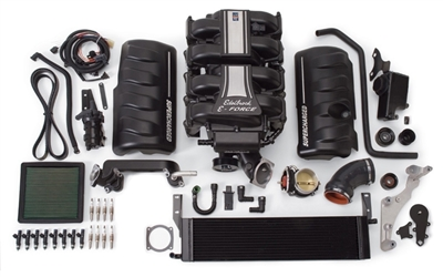 EDELBROCK E-FORCE COMPLETE SUPERCHARGER SYSTEM WITHOUT TUNER FOR 2010 FORD MUSTANG (4.6L 3V) -- 15890